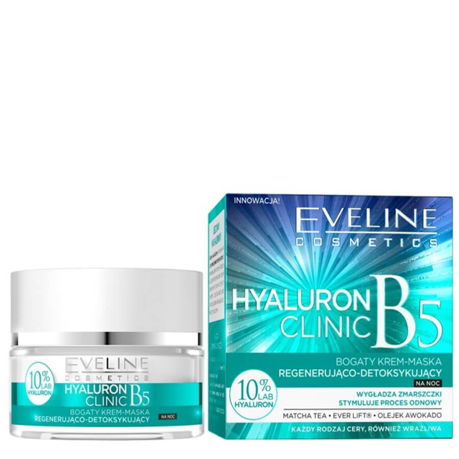 eveline cosmetics hyaluron clinic face cream mask