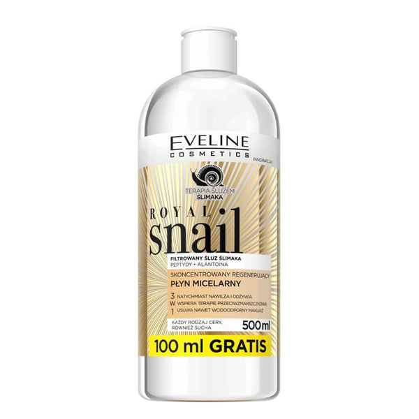 Eveline Royal Snail 3in1 Regenerating Micellar Liquid