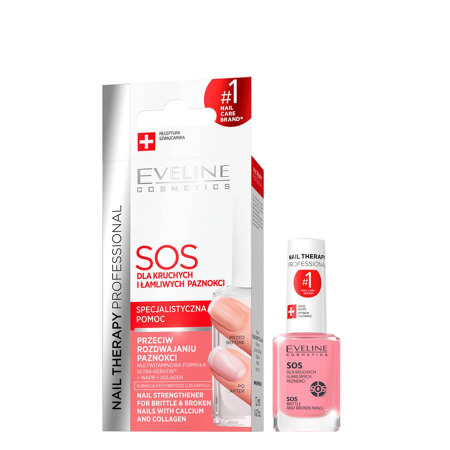 Eveline SOS Brittle Broken Nails Conditioner hardener rescue