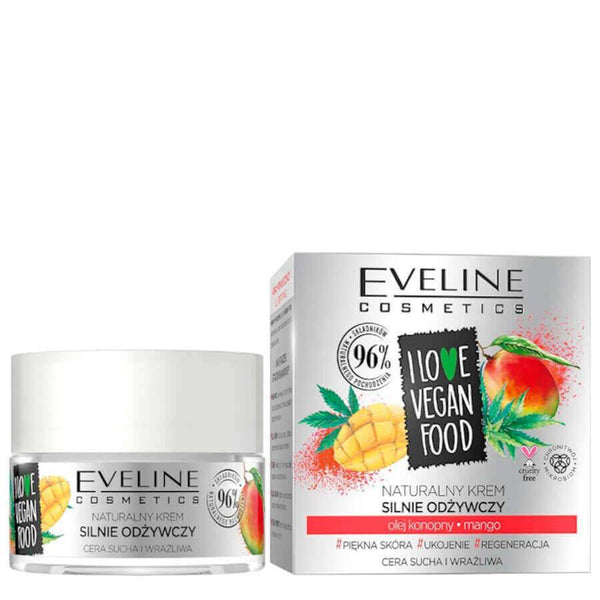eveline cosmetics vegan food face cream nourishing cream day and night
