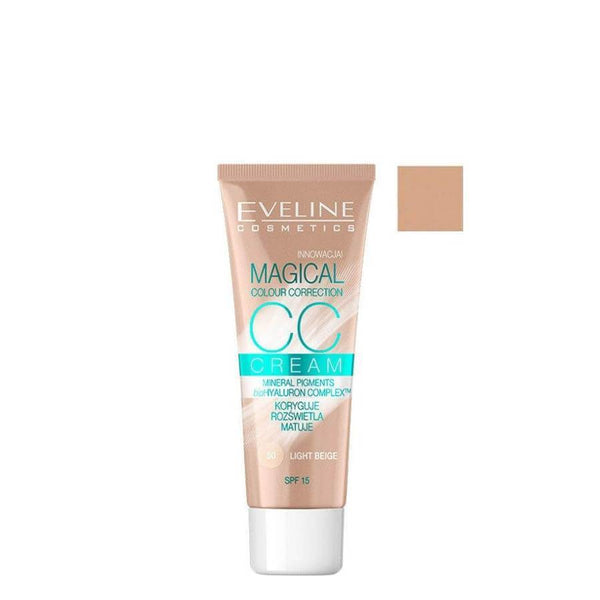 eveline magical cc cream light beige