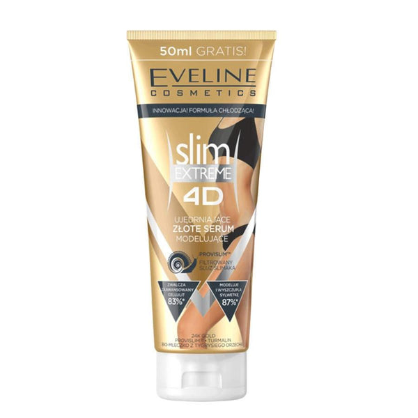 Eveline 4D Slimming and Shaping Gold Body Serum