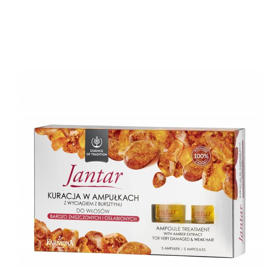 farmon jantar amber extract ampoules treatment