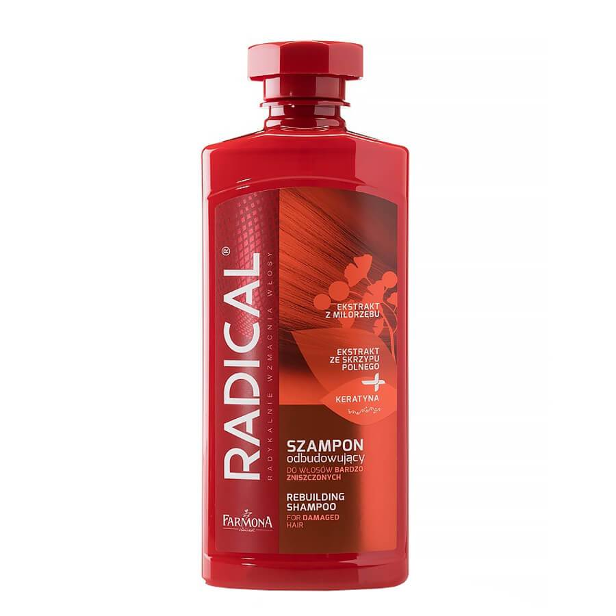farmona radical shampoo for damaged hair rebulding 400ml