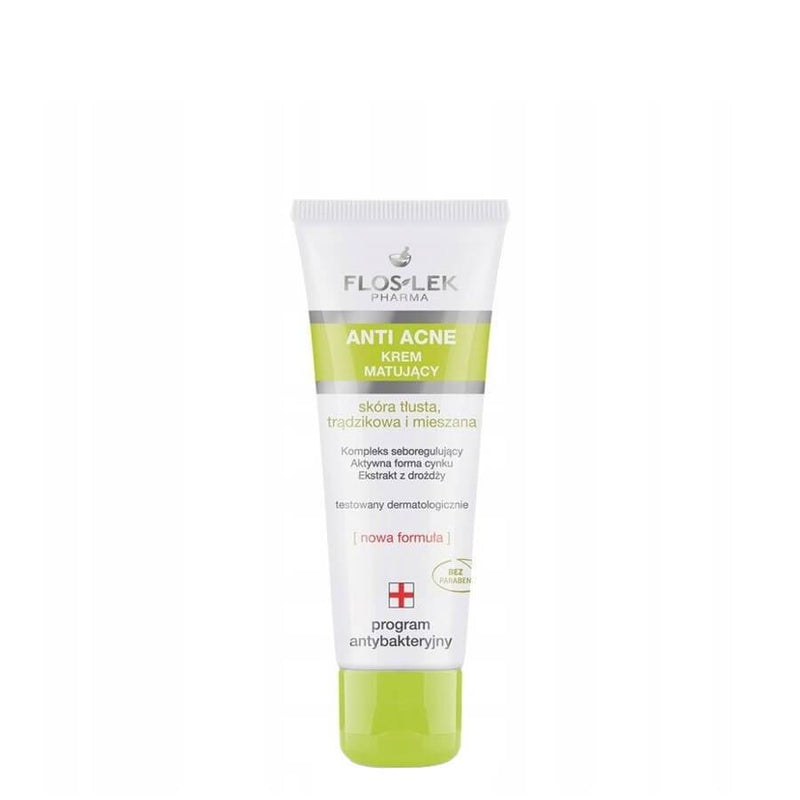 FlosLek Anti Acne Mattifying Face Cream combination mixed prone to imperfections