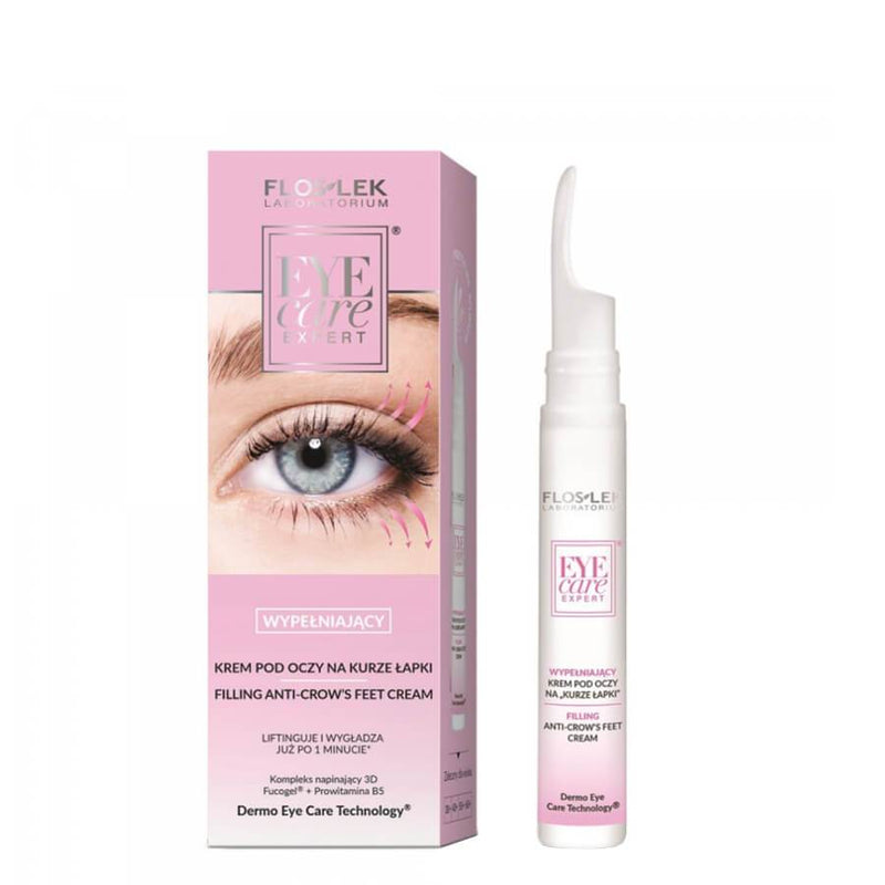 floslek fillint anti crows feet eye cream eye care expert 15ml