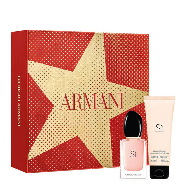 Giorgio Armani Si Gift Set EDP 30ml & Body Lotion 75ml