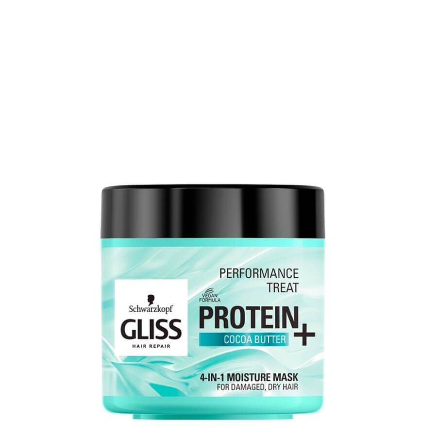 gliss protein 4in1 moisturizing vegan hair mask with cocoa butter