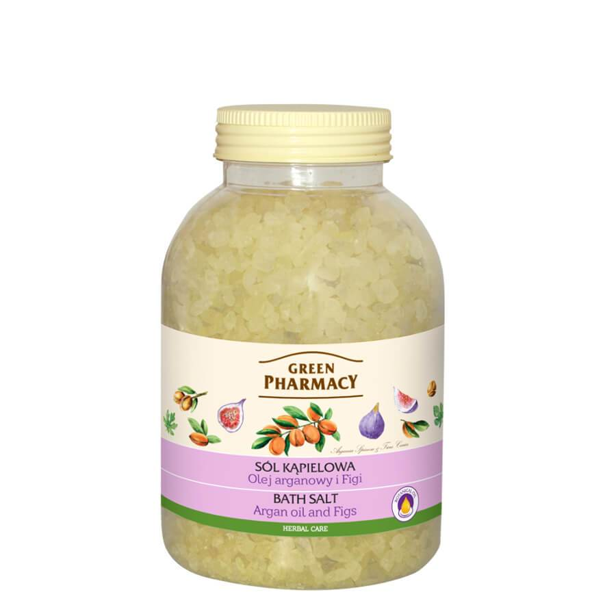 Green Pharmacy Bath Salt Argan Oil & Fig Extract