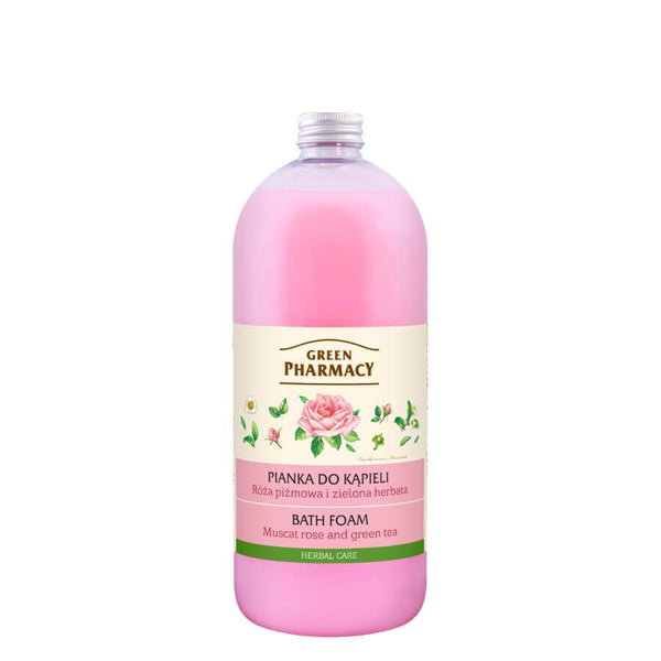 Green Pharmacy Bath Foam Muscat Rose & Green Tea