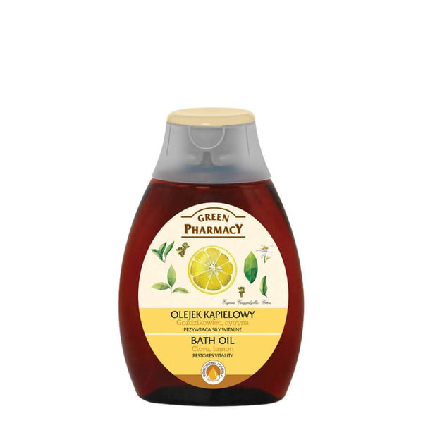Green Pharmacy Restoring Vitality Bath Oil with Clove & Lemon