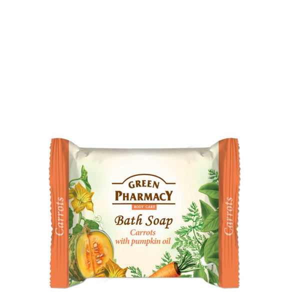 Green Pharmacy Bath Soap Bar Carrots & Pumpkin Oil