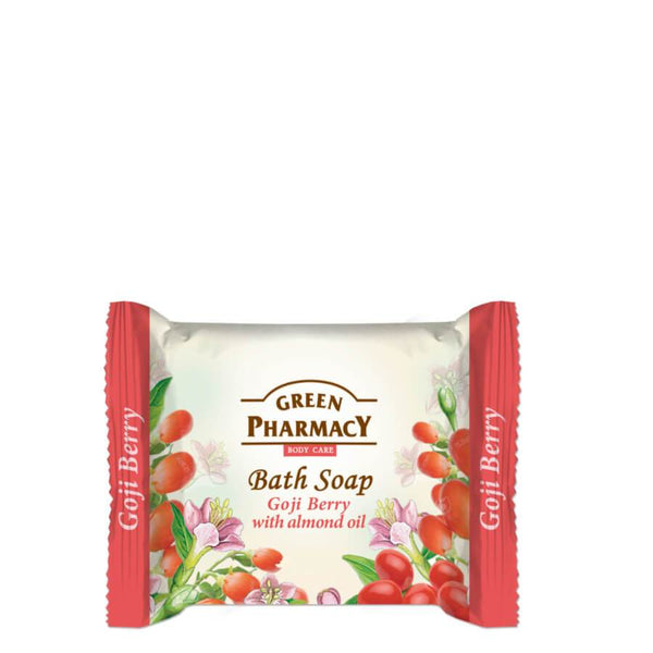 Green Pharmacy Bath Soap Bar Goji Berry & Almond Oil