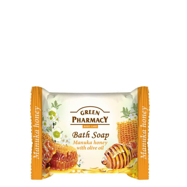 Green Pharmacy Bath Soap Bar Manuka Honey & Olive Oil