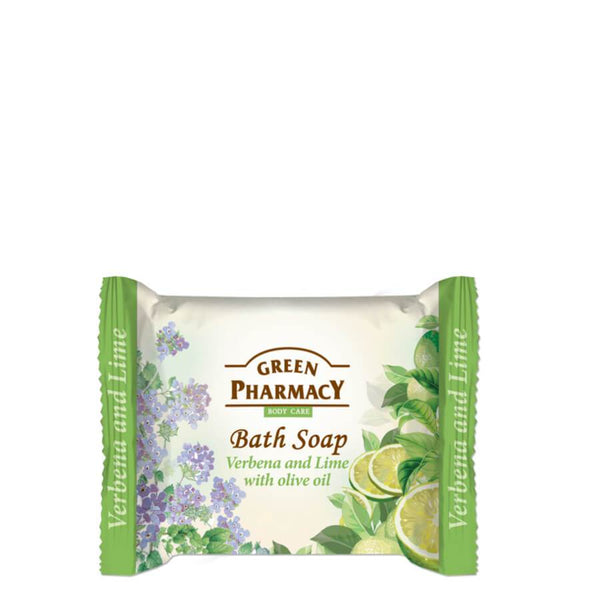 Green Pharmacy Bath Soap Bar Verbena & Lime