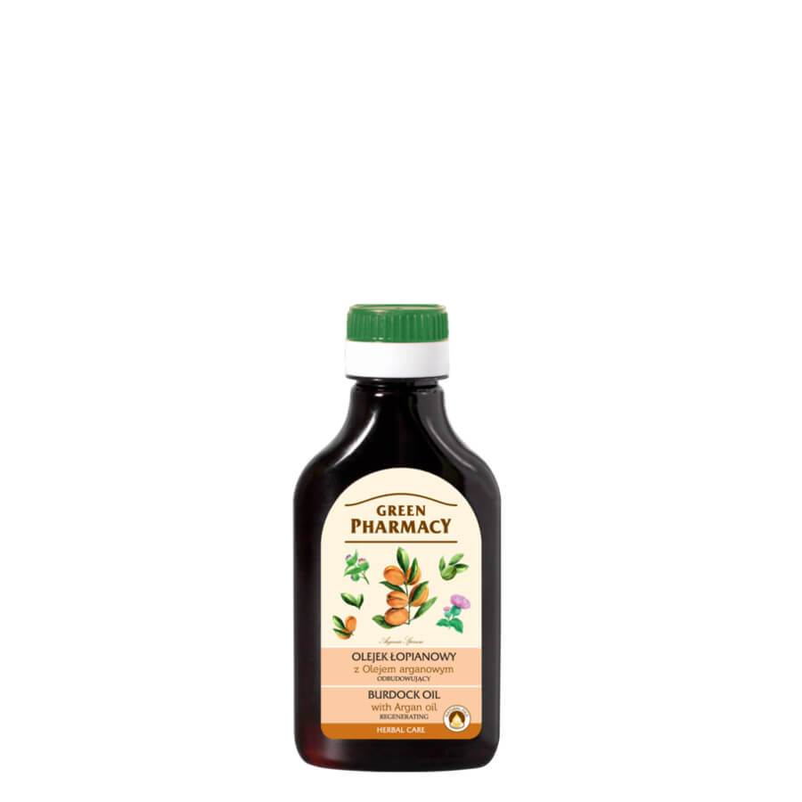 Green Pharmacy Burdock Oil with Argan Oil Stimulates Hair Growth