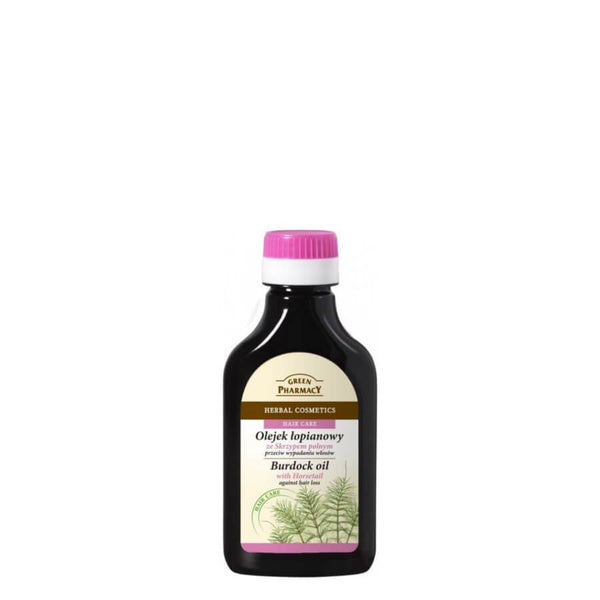 Green Pharmacy Burdock Oil with Horsetail Against Hair Loss