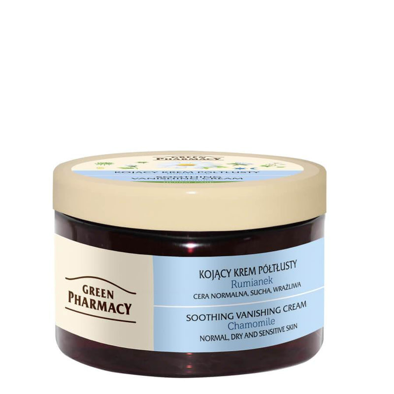 Green Pharmacy Soothing Vanishing Face Cream with Chamomile for dry skin