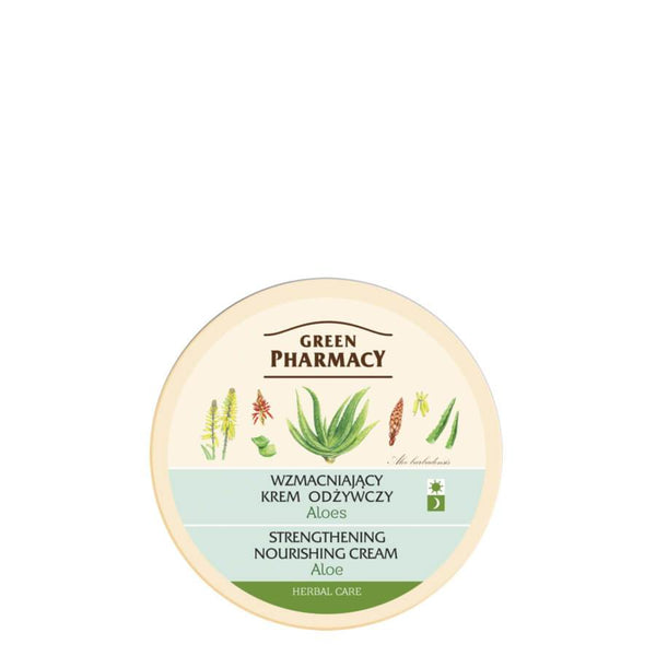 Green Pharmacy Strengthening & Nourishing Face Cream with Aloe