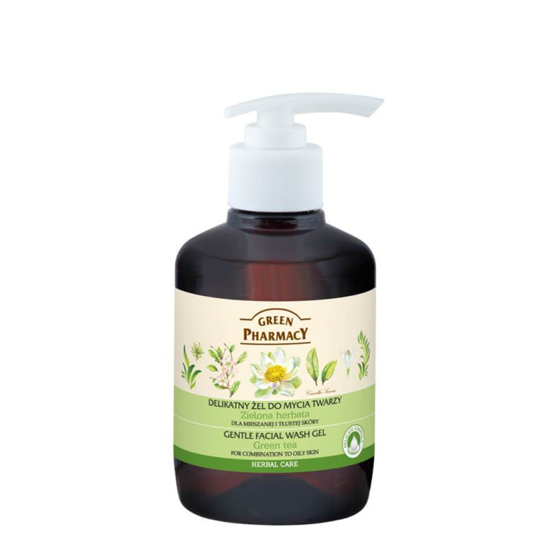 Green Pharmacy Gentle Face Wash Gel with Green Tea