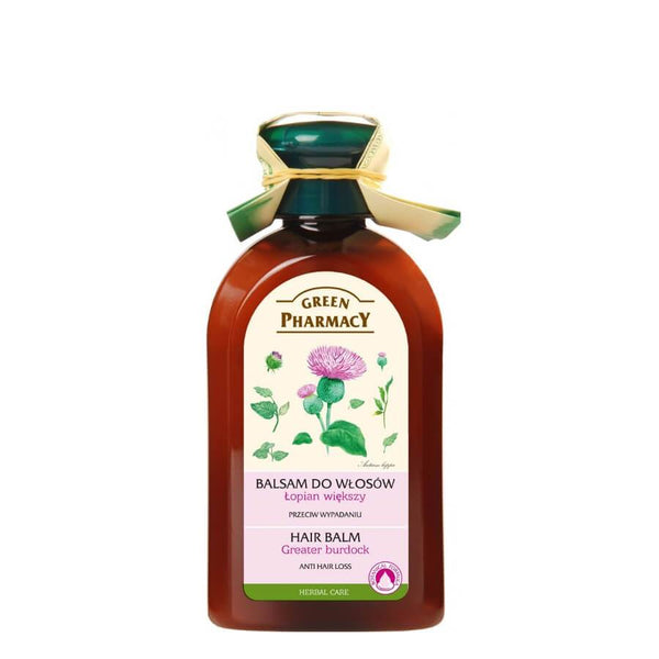 Green Pharmacy Balm Against Hair Loss with burdock oil