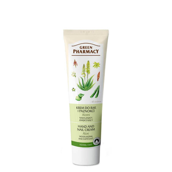 Green Pharmacy Moisturizing & Softening Aloe Hand Cream 100ml