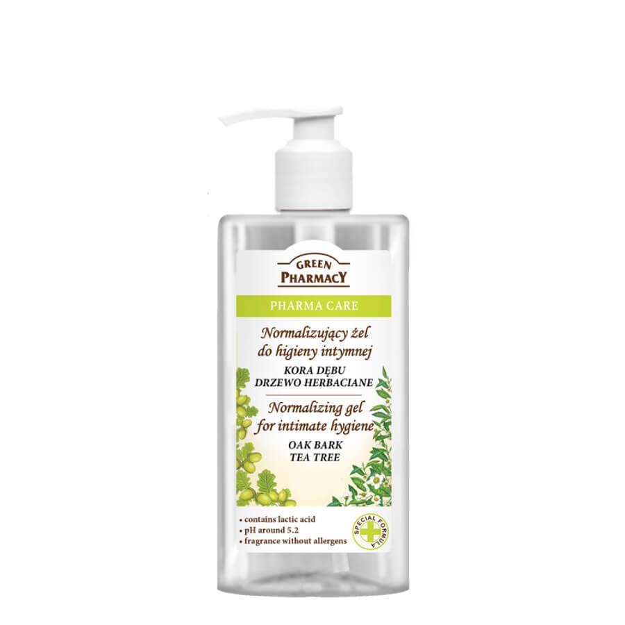 Green Pharmacy Normalizing Gel for Intimate Hygiene with Tea Tree