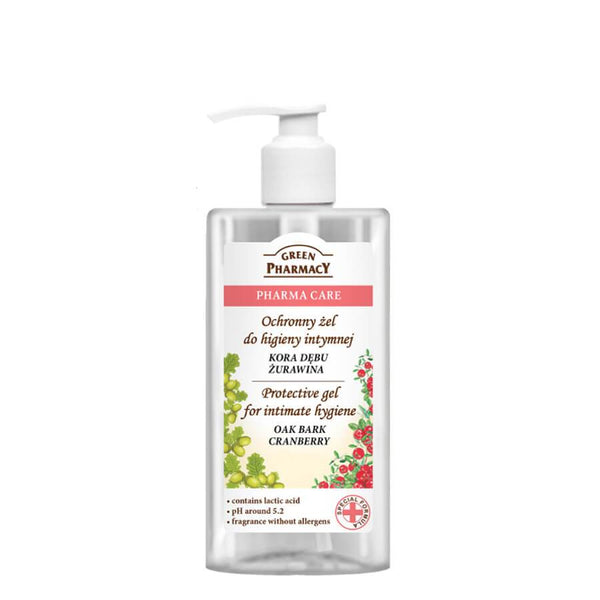 Green Pharmacy Protective Gel Intimate Hygiene with Cranberry