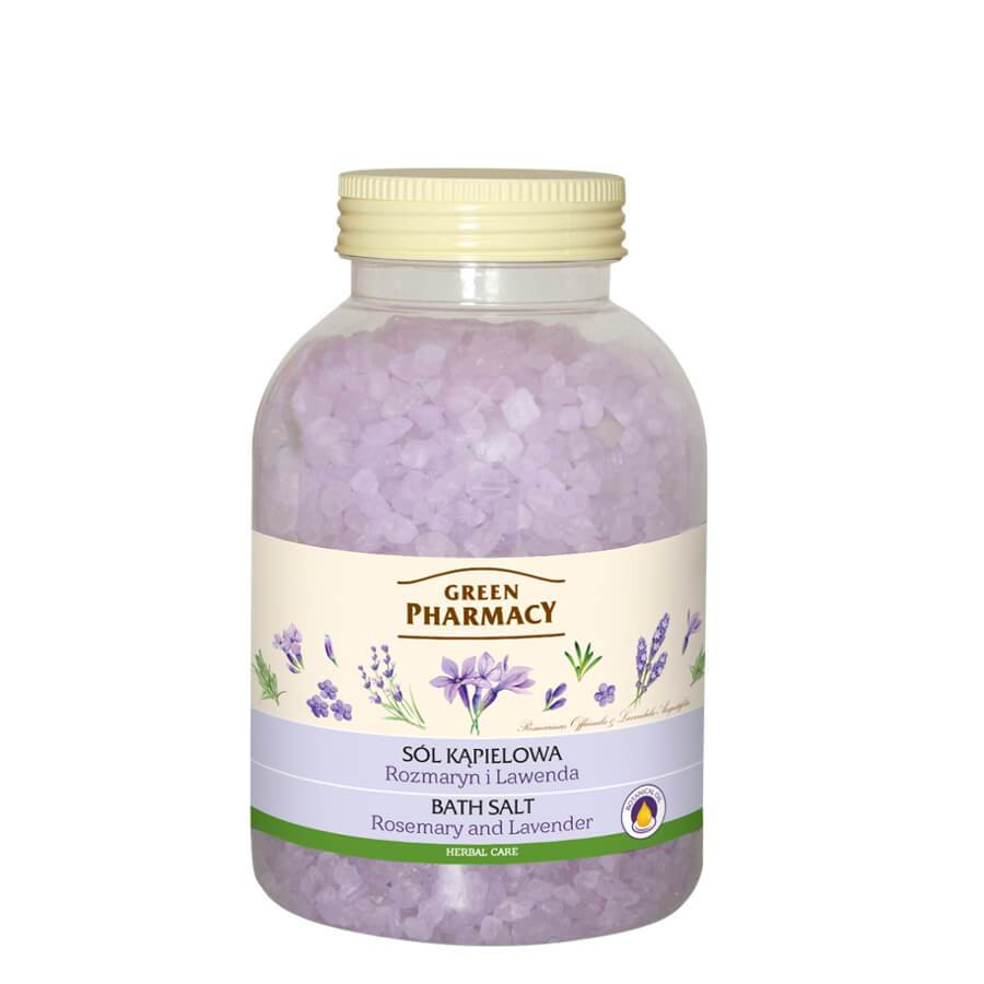 Green Pharmacy Bath Salt Rosemary & Lavender