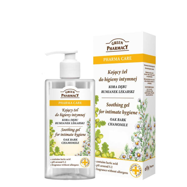 Green Pharmacy Soothing Gel for Intimate Hygiene with Chamomile 300ml
