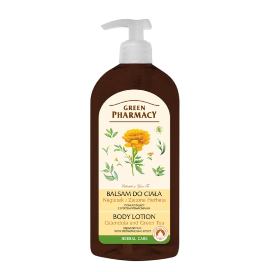 Green Pharmacy Rejuvenating Calendula & Green Tea Body Lotion