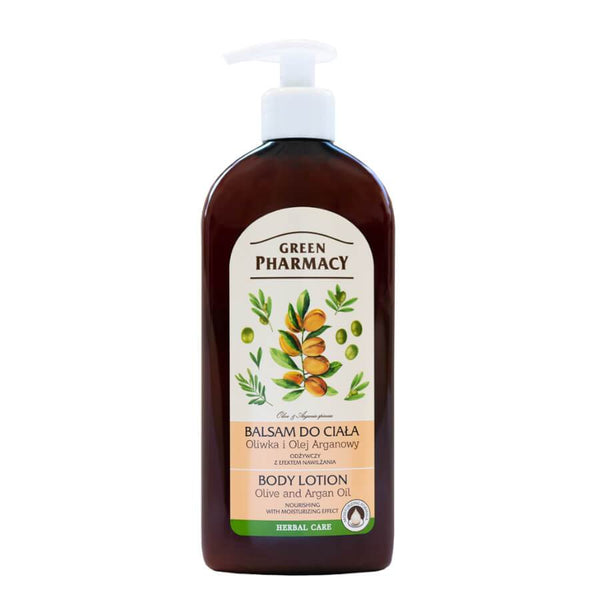 Green Pharmacy Nourishing Olive & Argan Oil Body Lotion 500ml