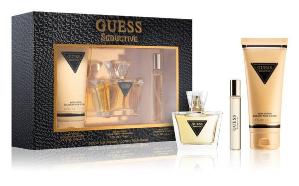 Guess Seductive set Eau de Toilette Spray 75ml + miniature eau de toilette 15ml + body lotion 200ml