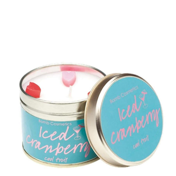 Bomb Cosmetics Iced Cranberry Candle