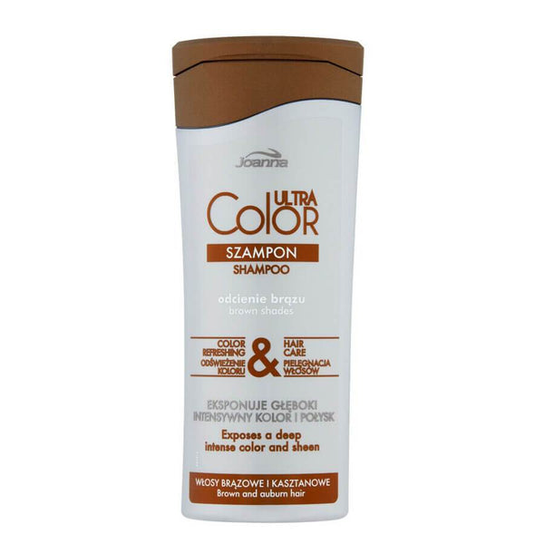 joanna utra color system refreshing shampoo for brown chestnut hair