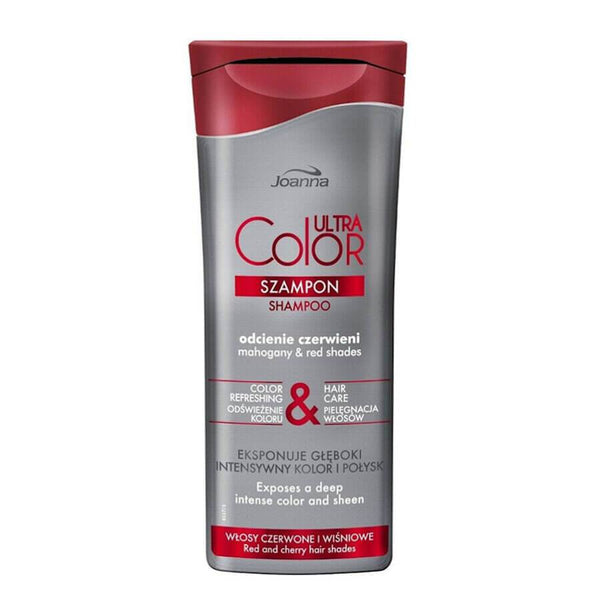 joanna ultra color system shampoo for red mahony hair