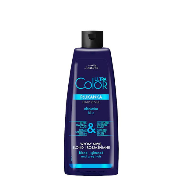 joanna ultra color blue hair rinse eliminate yellow shade