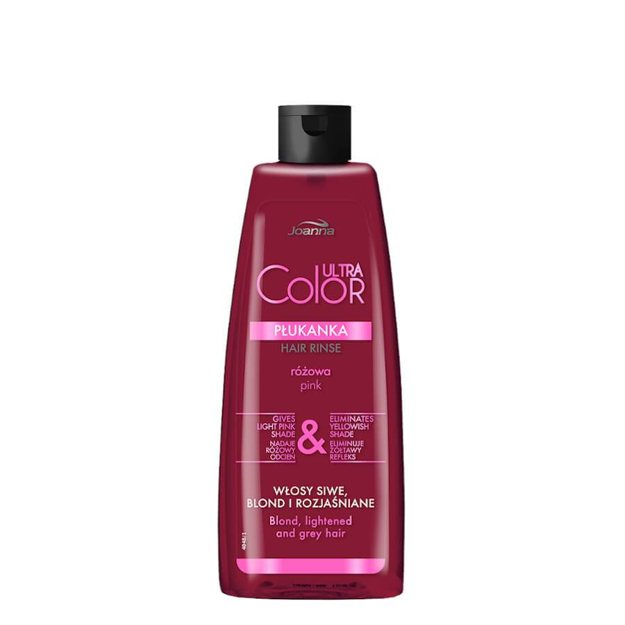 joanna ultra color pink hair rinse eliminate yellow shade