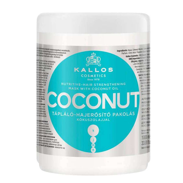 Kallos Coconut Nourishing Hair Mask 1000ml