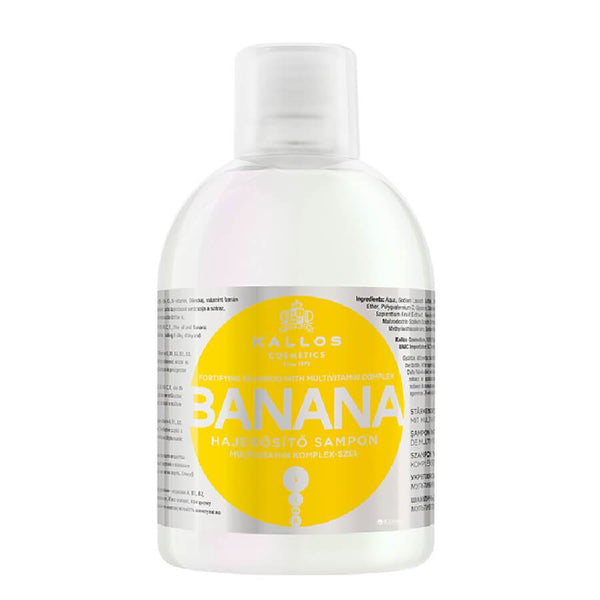 kallos banana hair shampoo 1000ml