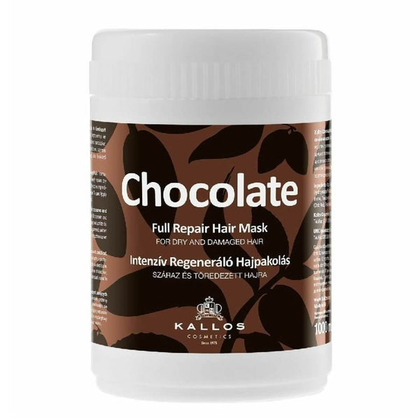 kallos chocolate hair mask 1000ml