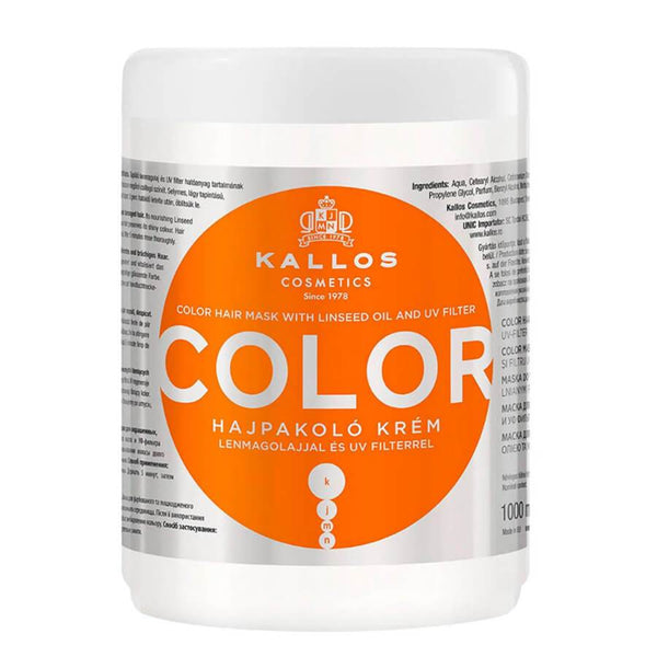 kallos color hair mask 1000ml
