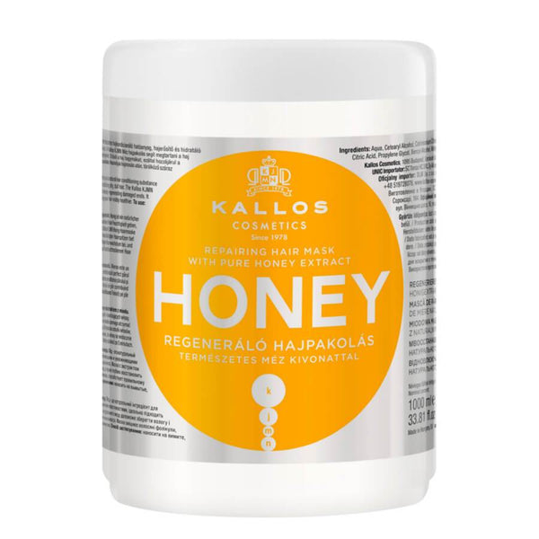 kallos honey hair mask 1000ml