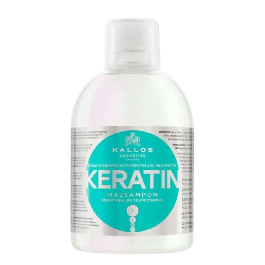 kallos keratin hair shampoo 1000ml