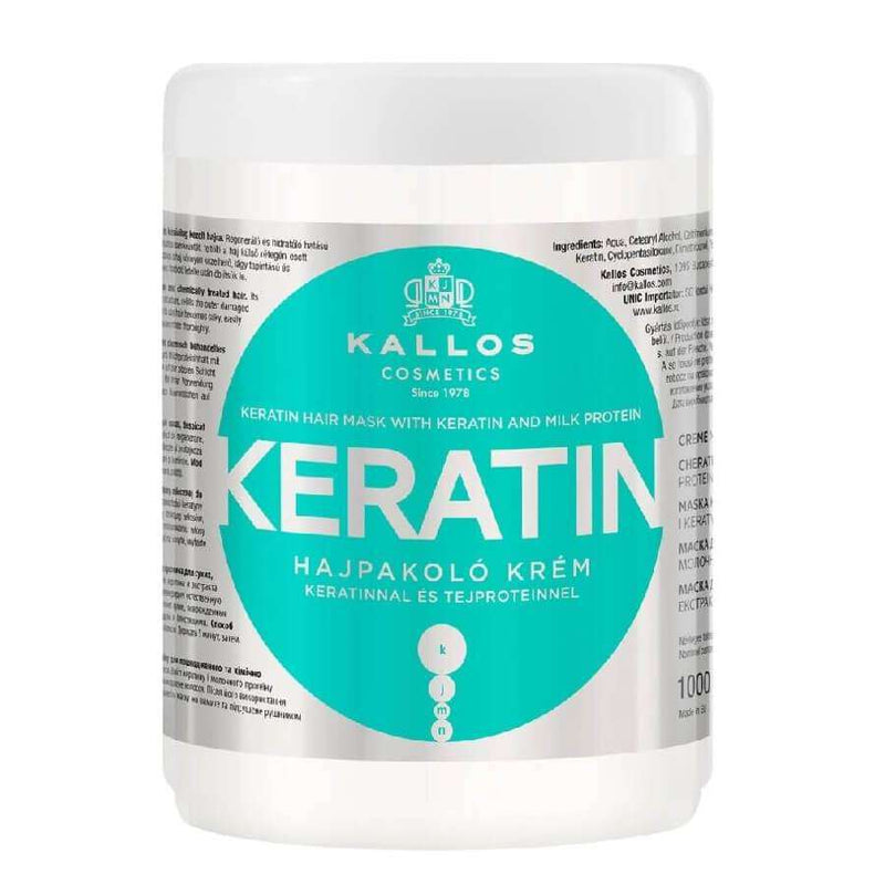 kallos keratin hair mask 1000ml
