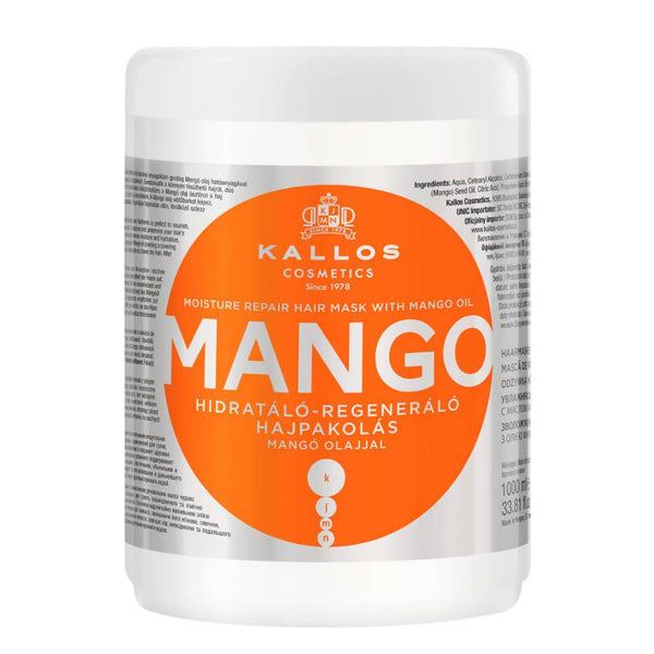 Kallos Mango Moisturizing Hair Mask 1000ml