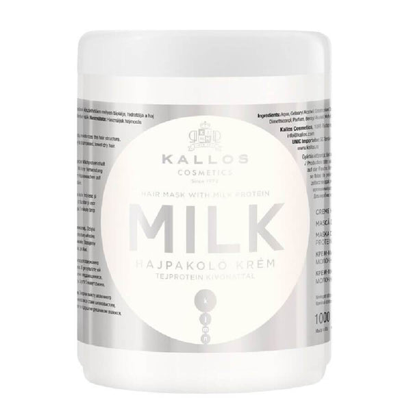 kallos milk hair mask 1000ml