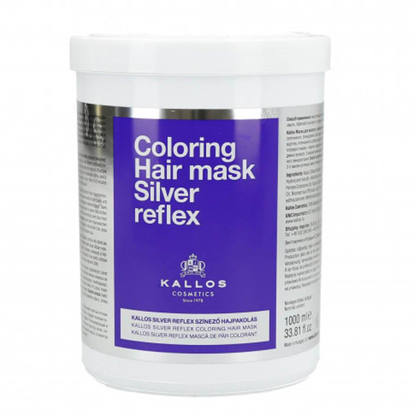 Kallos Coloring Silver Reflex Hair Mask 1000ml