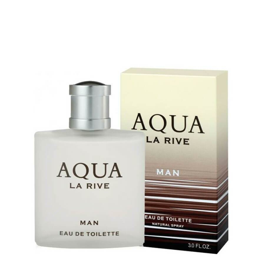 La Rive Aqua Man Eau de Toilette EDT for Men 90ml