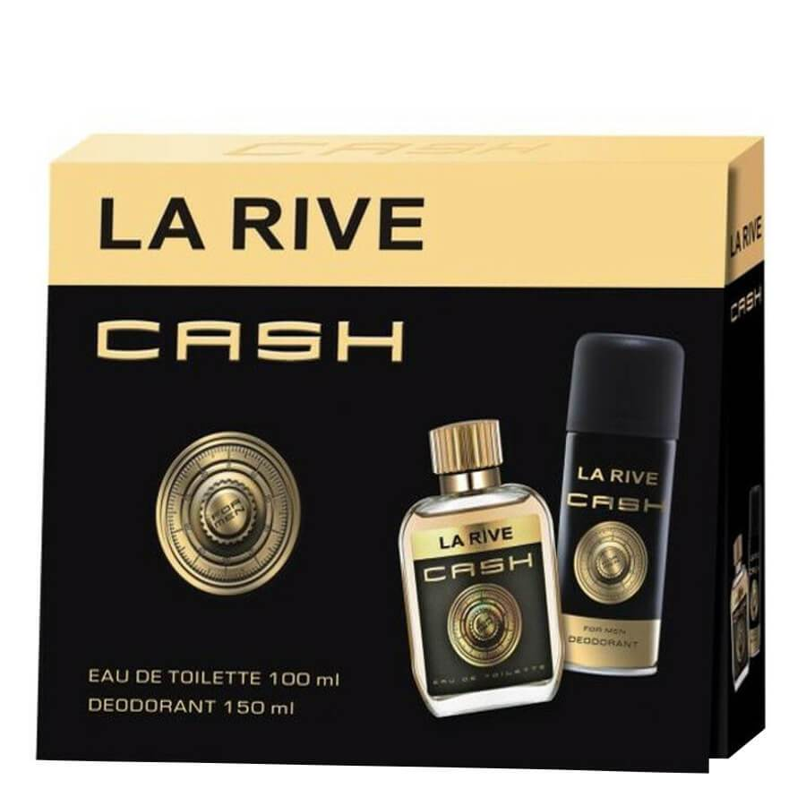 La Rive Gift Set EDT 100ml & Deodorant 150ml Cash For Men